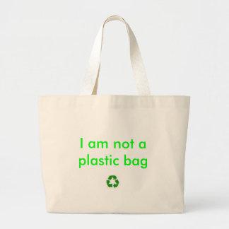 recicle, yo no son una bolsa de plástico