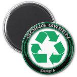 Recicle Zambia Imán De Frigorífico