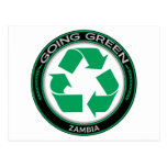 Recicle Zambia Tarjetas Postales
