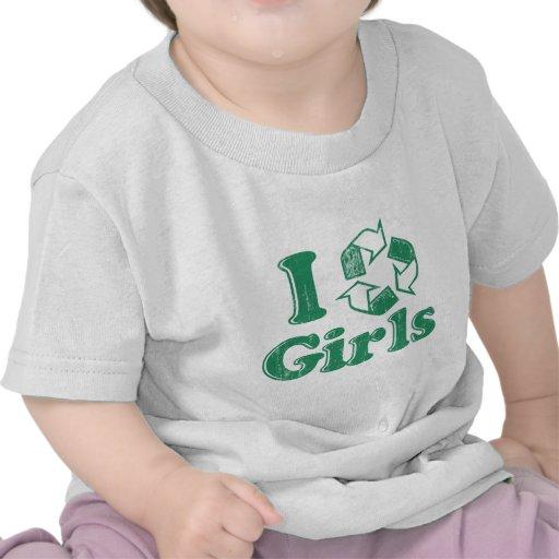 Reciclo a chicas camisetas