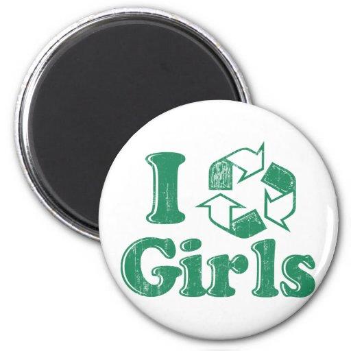 Reciclo a chicas imanes