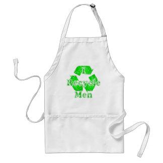 Reciclo… a hombres delantal