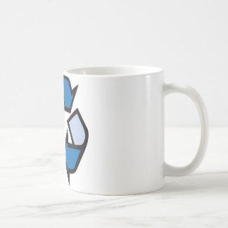 Reciclo - el azul 01 tazas de café