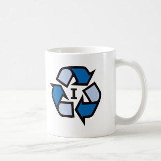 Reciclo - el azul 01 taza de café