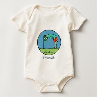 reciclo, enredadera orgánica infantil trajes de bebé