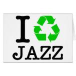 Reciclo jazz felicitación