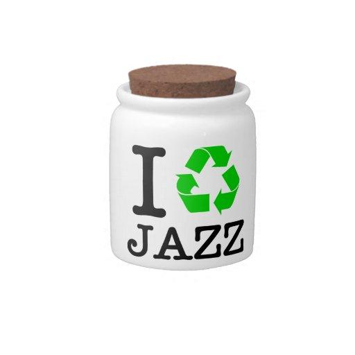 Reciclo jazz platos para caramelos