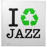 Reciclo jazz servilletas de papel