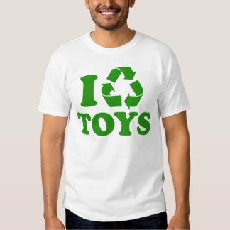 Reciclo los juguetes playeras