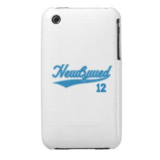 Recién casado 12 (azul de la escritura del iPhone 3 Case-Mate carcasa