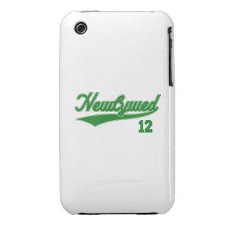 Recién casado 12 (verde de la escritura del iPhone 3 funda