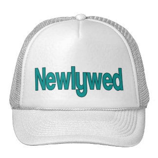 Recién casado gorras de camionero