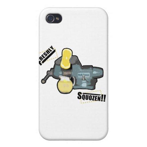 Recientemente Squozen iPhone 4 Coberturas