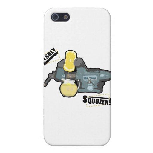 Recientemente Squozen iPhone 5 Cárcasas