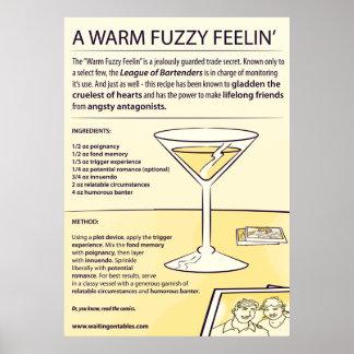 Recipe - A Warm Fuzzy Feelin - LARGE Poster