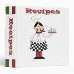 Recipe Albums- Kitchen Chef- Binder