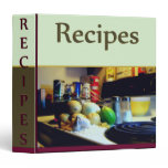 Recipe Binder by David M. Bandler