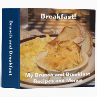 Recipe Binder Breakfast and Brunch