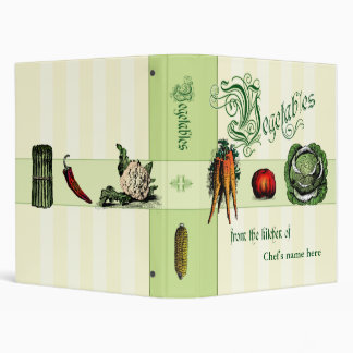 Recipe Binder for Vegetable dishes