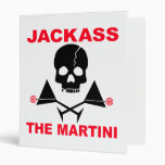 Recipe Binder - JACKASS, The Martini Recipe Book