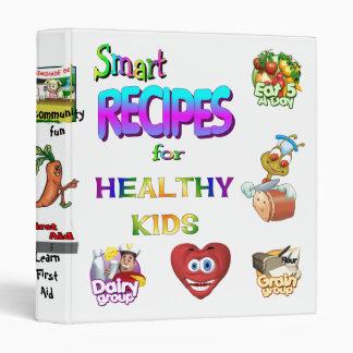 Recipe Binder Smart Recipes for Healthly Kids