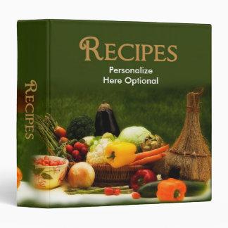 Recipe Binder - Vegetables