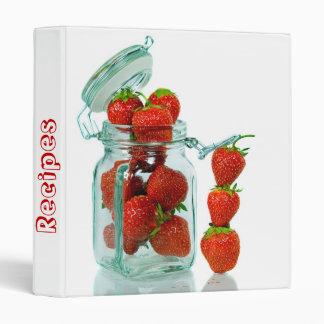 Recipe Book 3 Ring Binder