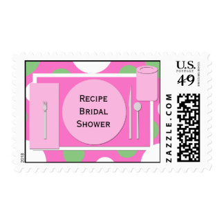 Recipe Bridal Shower Postage