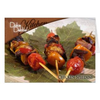 Recipe Card - Chicken Spiedini