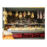 Recipe Card Gift Set - Italian Cheese Post Cards