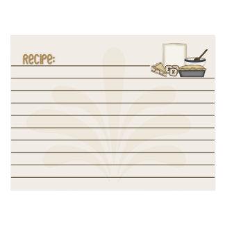 Recipe Card Pie