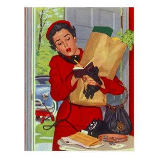 Recipe Card Postcard Design To Share Fav Recipes