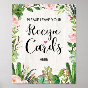Recipes Sign Art \u0026 Wall Décor
