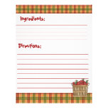 Recipe Card Stock