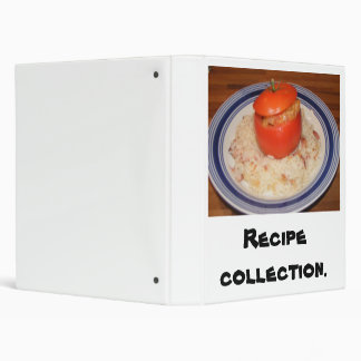 Recipe collection. binder