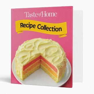 Recipe Collection Vinyl Binder