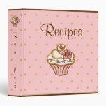 Recipe Dessert Cupcake Binder