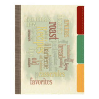 Recipe Divider Pages For Recipe Binder at Zazzle