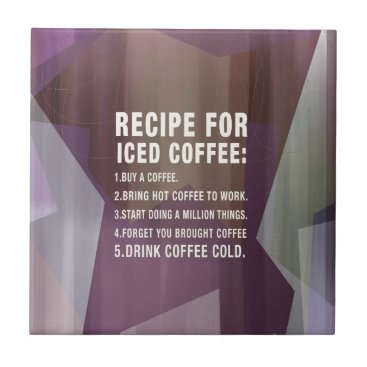 Recipe for Cold Coffee Tile