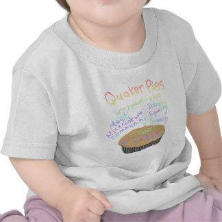 Recipe for Making Quaker Pies T-shirts