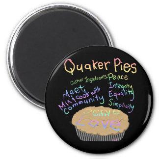 Recipe for Quaker Pies Magnets