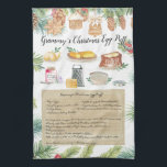 """Recipe Heirloom Tea Towels<br><div class=""""desc"""">For a unique gift, bake a batch of treats right from one of grandma"""