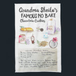 "Recipe Heirloom Tea Towels<br><div class=""desc"">For a unique gift, bake a batch of treats right from one of grandma"