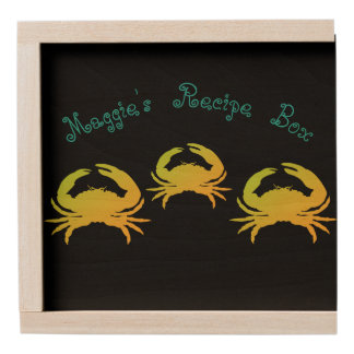 Recipe_Keepsake_Box_Name_Crab's_Template_TLCT Wooden Keepsake Box
