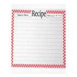 Recipe Letterhead