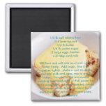 Recipe magnets - microwave sponge pudding