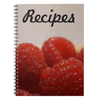 Recipe Notebook (Raspberries)