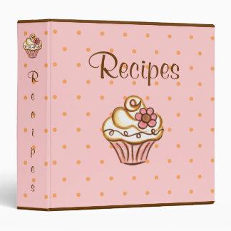 Recipe Organizer Dessert Cupcake Binder