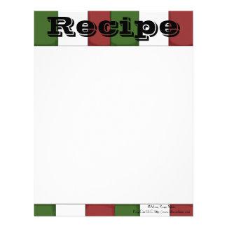 Recipe Paper- Kitchen C- Recipes Letterhead