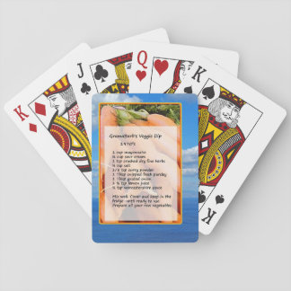 Recipe Playing Cards Classic